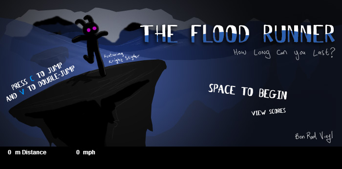 click here to play flood runner