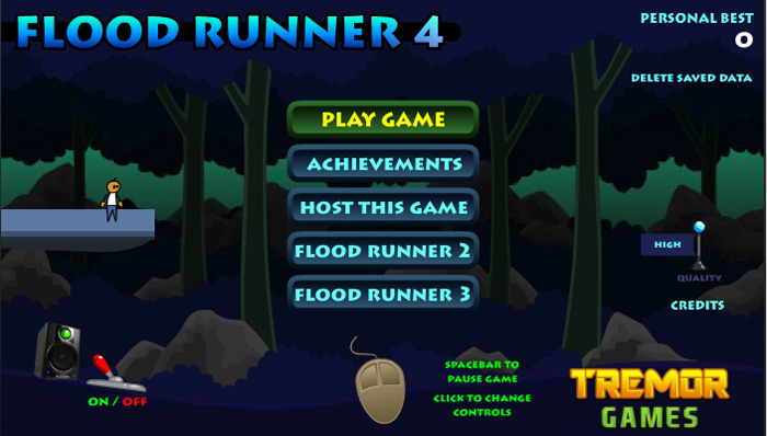 click to play flood runner 4